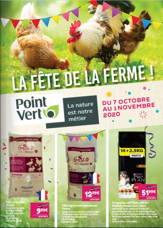 Catalogue La Fête de la Ferme 2020 - Point Vert
